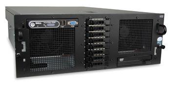 """DELL PowerEdge R900 4x Intel Xeon Quad-Core E7330 2400MHz 16384MB HDD Fehlt SAS n/v Slim DVD 19"""" Rac"""