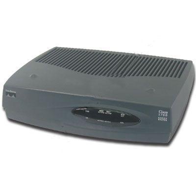 Cisco Systems Cisco 1720 10/100 RJ 45 1x Port Ja ISDN Karte