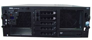 "DELL PowerEdge 6850 4x Intel Xeon 3066Mhz 2048MB 1x 36 GB SCSi 320 10/100/1000 RJ 45 Slim CD 19"" Rac"