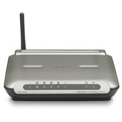 Belkin Wireless G Modem 10/100 RJ 45 4x Port Ja DSL Wireless Ja Zubehör Ja