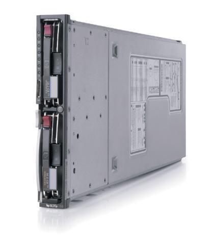 HP ProLiant BL20P G2 2x Intel Xeon 3066Mhz 4096MB 2x 80 GB SCSi PN:339598-B22