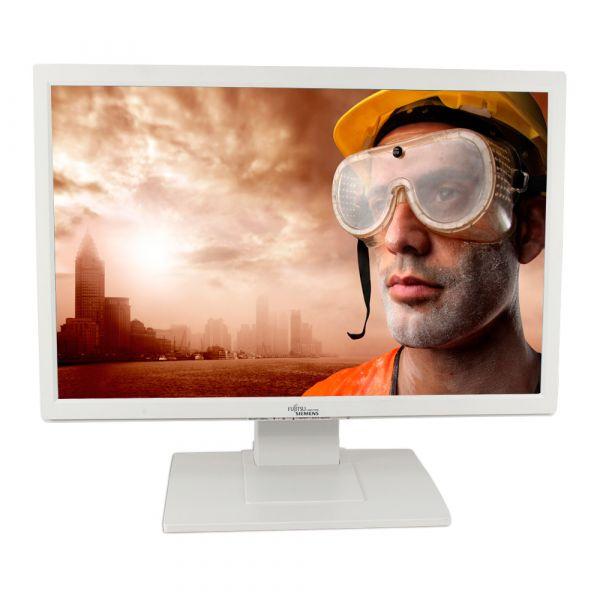 """Fujitsu-Siemens A24W-3A 24"""" 1920 x 1200 400 cd/m2 5ms VGA DVI Weiß Lautsprecher"""