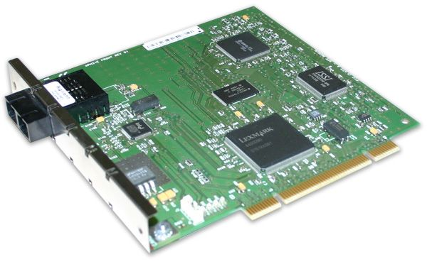 Lexmark PC-P-86-94V-0 LWL PCI 100 Mbit/s FX (SC) Glasfaser.