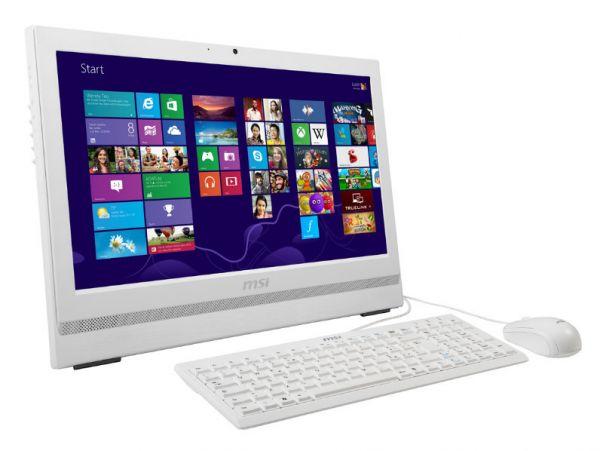 """MSI MS-AA75 Intel 4.Gen 3GHz 16GB 512GB SSD 20"""" Win 7 Pro 2xCOM Touch"""