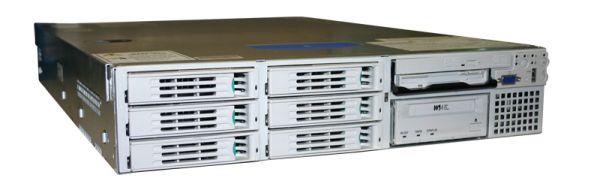 NEC Express5800 2x Intel Xeon 2800MHz 2048MB 6x 80GB SCSi 320 10/100/1000 RJ 45 DVD/CD-RW PN:120RF-2