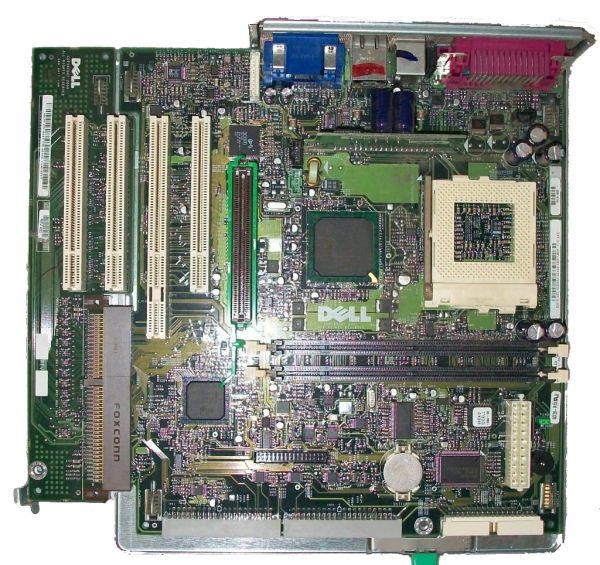 Dell OPTIPLEX GX150 Intel Socket 370 4x 2x SD-Ram 8MB 2x 2x Stereo 10/100 RJ 45
