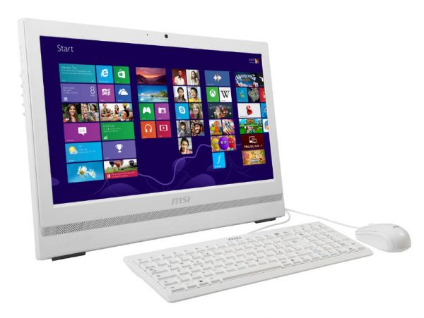 """MSI MS-AA75 i7 4770 3,4GHz 16GB 128GB SSD 20"""" Win 7 Pro 2xCOM Touch"""
