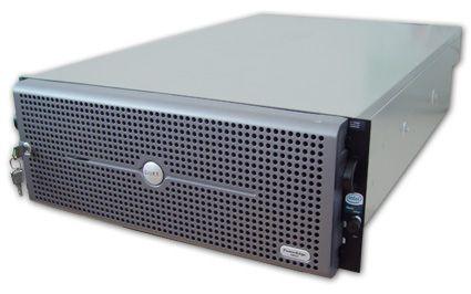"DELL PowerEdge 6850 4x Intel Xeon 3160MHz 4096MB 2x 36 GB SCSi 10/100/1000 RJ 45 Slim CD 19"" Rack 4H"