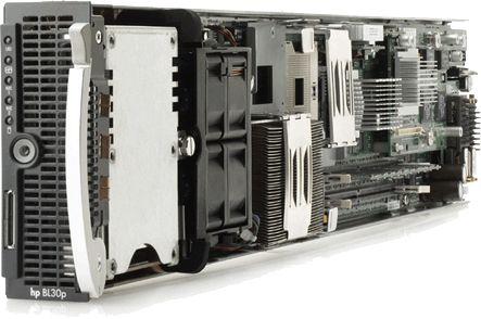 HP ProLiant BL30p 2x Intel Xeon 3060MHz 1024MB 1x 60 GB ATA PN:354566-B21
