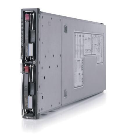 HP ProLiant BL20P G2 2x Intel Xeon 3066Mhz 1024MB 2x 80 GB SCSi PN:345020-B21