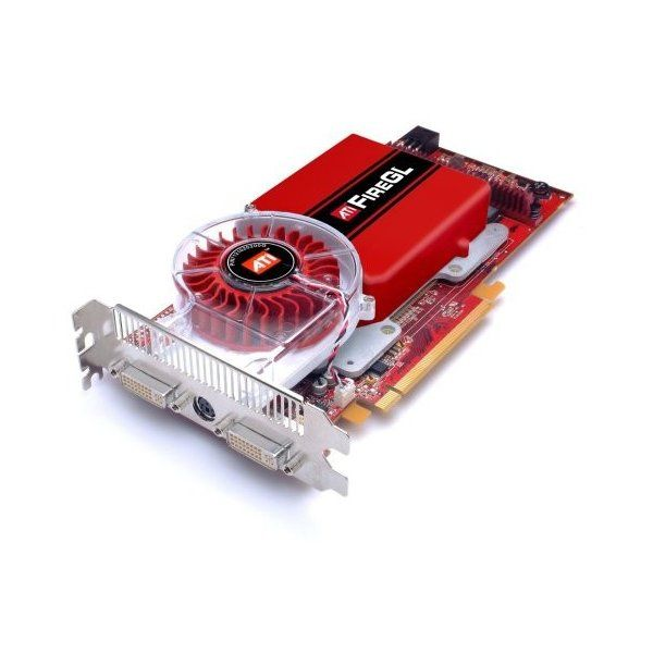 ATI FireGL V7300 512MB ATX Grafik PCI- E 2x VGA, S-Video