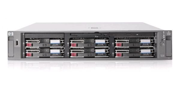 HP ProLiant DL380 G3 1x Intel Xeon 2800MHz 512MB 2x 36 GB SCSi Onboard 10/100/1000 RJ 45 Slim CD 19""