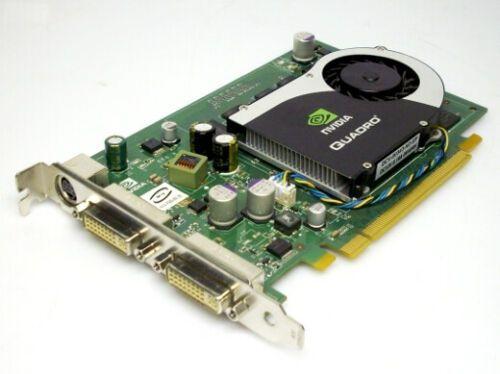 Nvidia quadro fx1700 512MB ATX Nvidia Quadro Grafik PCI- E 2x DVI, S-Video