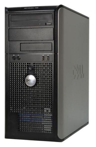 DELL Optiplex 740 MT AMD Athlon 2,6GHz 4GB 512GB SSD DVD Win 10 Pro Midi-Tower