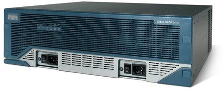 Cisco 3845MB 10/100/1000 RJ 45 4x Port Ja USB 2.0