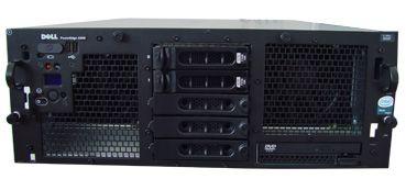 DELL PowerEdge 6850 4x Intel Xeon 3160MHz 4096MB 1x 36 GB 1x 72 GB SCSi 10/100/1000 RJ 45 Slim CD 19
