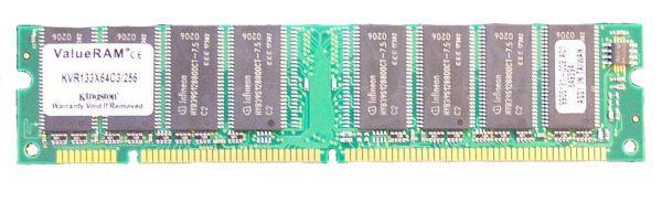 Kingston KVR133X64C3/256 128MB SD-Ram PC133