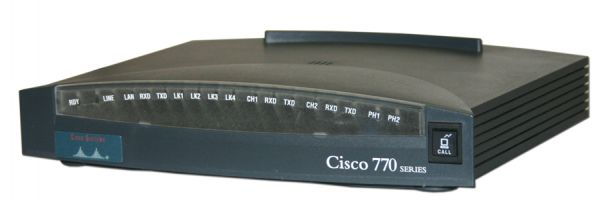 Cisco Systems 775M 10 Mbit RJ 45 5x Port Ja