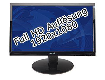 "terra LCD 2220W 22"" 1920 x 1080 250 cd/m² 5ms VGA DVI Schwarz Lautsprecher"