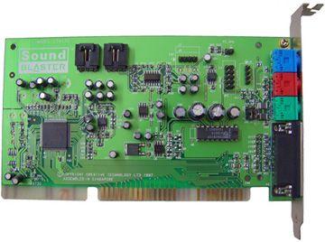 Creative SoundBlaster CT4170 Stereo E ISA Klinke GamePort